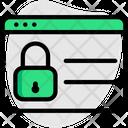 Password Web Lock Icon