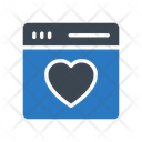 Browser Love Icon