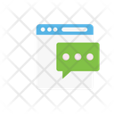 Message Support Online Icon