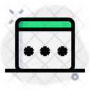 Browser Password Interface Icon