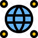 Global Location Worldwide Location Browser Point Icon