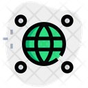 Browser Point Global Location Worldwide Location Icon