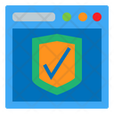 Shield Browser Protection Icon