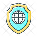 Browser Protection Internet Security Globe Icon