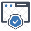 Browser Protections Security Icon