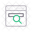Browser Search Magnifier Icon