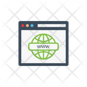 Browser Webpage Internet Icon
