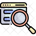 Search Document Research Icon