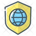 Protection Website Security Globe Icon