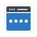 Password Lock Webpage Icon