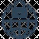 Internet Security Globe Icon