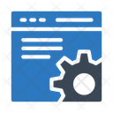 Browser Webpage Seo Icon