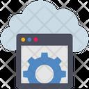 Cloud Computing Setting Icon