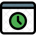 Browser Time Icon