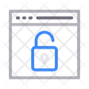 Browser Unlock Icon