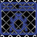 Browser Virus Icon