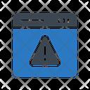 Error Warning Online Icon