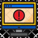 Browser Warning Icon