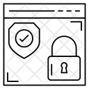 Browserlock Webpage Lock Icon