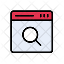 Browsing Search Webpage Icon