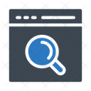 Browser Webpage Search Icon