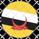 Brunei Flag Icon