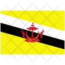 Flag Country Brunei Icon