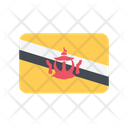 Brunei Flag Country Icon