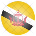 Brunei National Country Icon