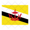 Brunei Darussalam Flag Flags Icon