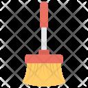 Broom Modern Floor Icon