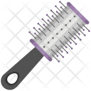 Hair Brush Round Icon