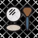 Brush Mirror Spa Icon