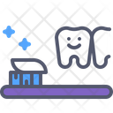 Teethbrush Toothbrush Brush Icon