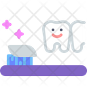 Toothbrush Brush Tooth Icon