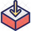 Box Filling Package Icon