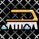 Brush Laundry Washing Icon