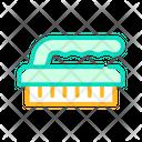 Brush Sponge Color Icon