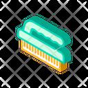 Brush Sponge Isometric Icon