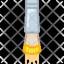 Brush Yellow Artist Icon