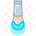 Brush Cyan Artist Icon