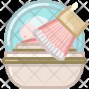 Brush Makeup Powder Icon