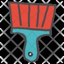 Brush Paint Construction Icon