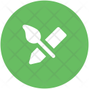 Brush And Pencil Icon