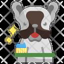 Brush Dog Teeth Dog Teeth Animal Kingdom Icon