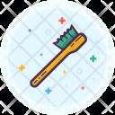 Brush Toilet Bathroom Icon