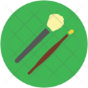 Brushes Cosmetic Makeup Icon