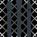 Brushes Art Design Icon