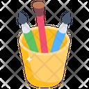 Brushes Holder Icon