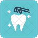 Brushing Tooth Dental Icon